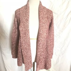 Old Navy Chunky Knit Open Front Cardigan Sweater